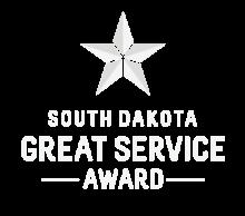 South Dakota Great Service Star